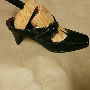fa35cd9ae13 Merona Shoes - Merona Mary Janes Mule Slide Heels Shoes